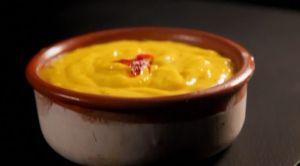 レシピ#8 ニンニクとサフランのマヨネーズGarlic & saffron mayonnaise