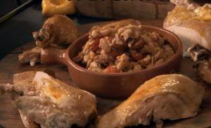 レシピ#5 スタッフド・ローストチキン Stuffed Roast Chicken
