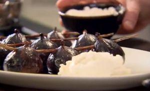 レシピ#65 カラメル味のイチジク リコッタチーズ添え Caramelised figs with ricotta
