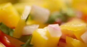pork neck curry with mango salsa~「ゴードン・ラムゼイ 究極の料理 時間をかけて作る究極の料理」から
