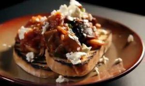 slow cooked aubergine~「ゴードン・ラムゼイ 究極の料理 ゆっくり時間をかけて作る料理」から
