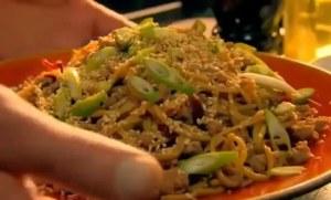 レシピ#43 豚肉焼きそば Stir-fried pork noodles