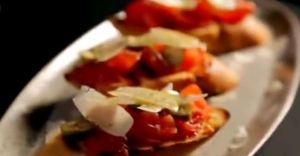 bruschetta with tomato and pecorino 2