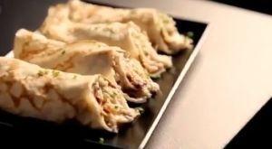 crab and mascarpone crepe~「ゴードン・ラムゼイ 究極の料理 ブランチ(後編)」から