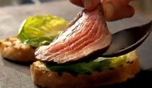 レシピ#76 ステーキ・サンドイッチ Steak sandwiches