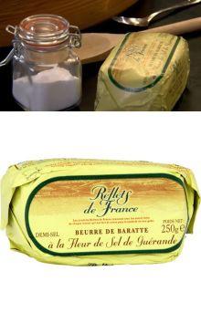 ゲランドの塩の精入りバター