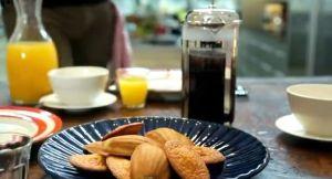 レモン風味のケシの実入りマドレーヌ~「ゴードン・ラムゼイ 究極の料理~朝食からディナーまで~伝統料理にひと工夫」から