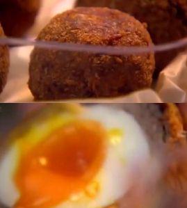 スコッチエッグ~「究極の料理~朝食からディナーまで~ピクニック料理」から