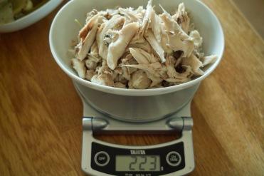 chicken rillette process 1
