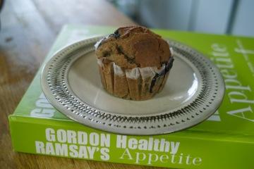 ゴードン・ラムゼイ氏のレシピで焼いたマフィン。大体200kcalぐらいと低カロリーなレシピです!