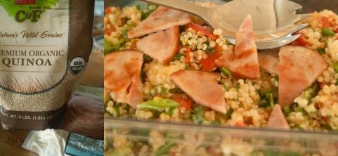 costco quinoa bacon and cheese salad