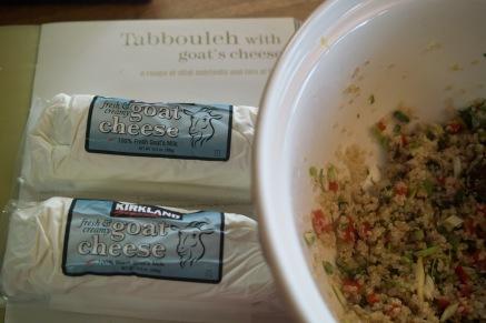 ゴートチーズはコストコのPB商品を利用してます。