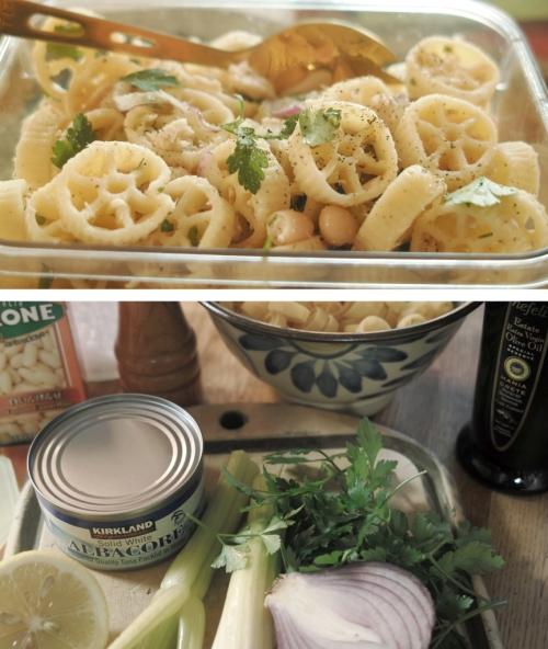 Jeni Wrightさんのレシピどおりに作ったツナパスタサラダ。お弁当にぴったり